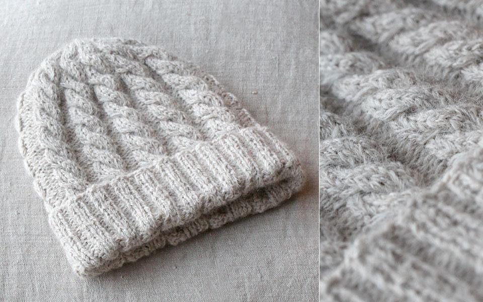 strikkeoppskrift babylue