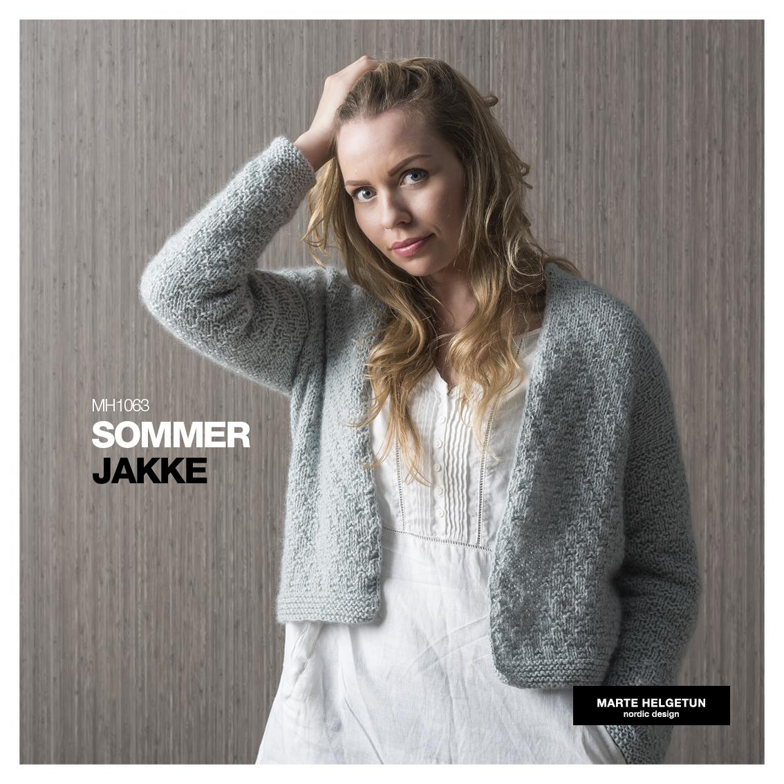 85a643fc Sommerjakke - Dame - Oppskrifter og materialpakker - Design by Marte  Helgetun