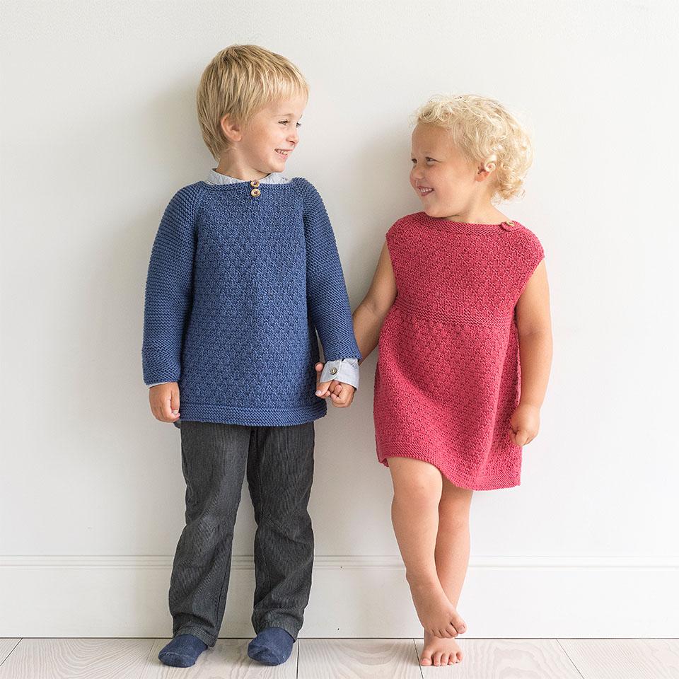 Vinterfin kjole Barnehagebarn 1 6 år Oppskrifter og